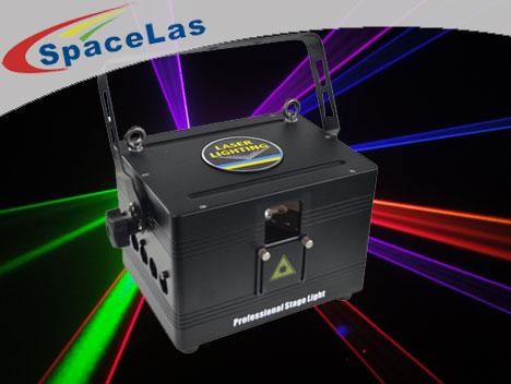 Cheap 3Watt full color club laser projectors with DMX512