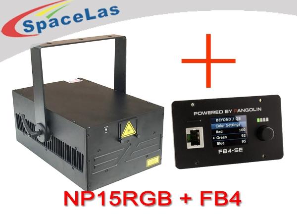 15Watt Laser show projector with built-in FB4