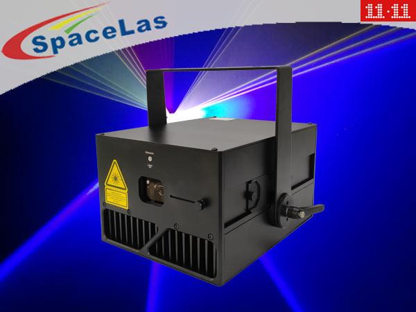 Double 11 6Watt RGB full color laser show projector