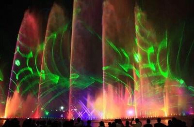 Water laser effect