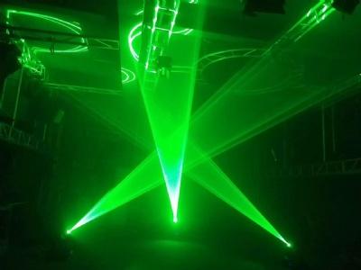 DJ laser show effect