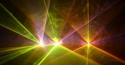 RGB Laser show effect