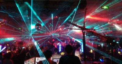 Club laser show projector