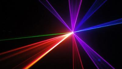 Laser light projector Beam effect