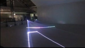 NP6F laser project at the entrance