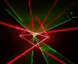 Multi laser show videos from customer Green and Red
