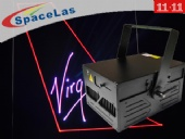 Double 11 11watt RGB dj laser show projector