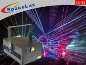 Double 11 20Watt RGB dj show laser projector